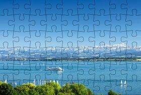 Puzzlepostkarte Bodensee 2
