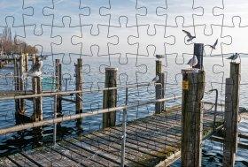 Puzzlepostkarte Bodensee 1
