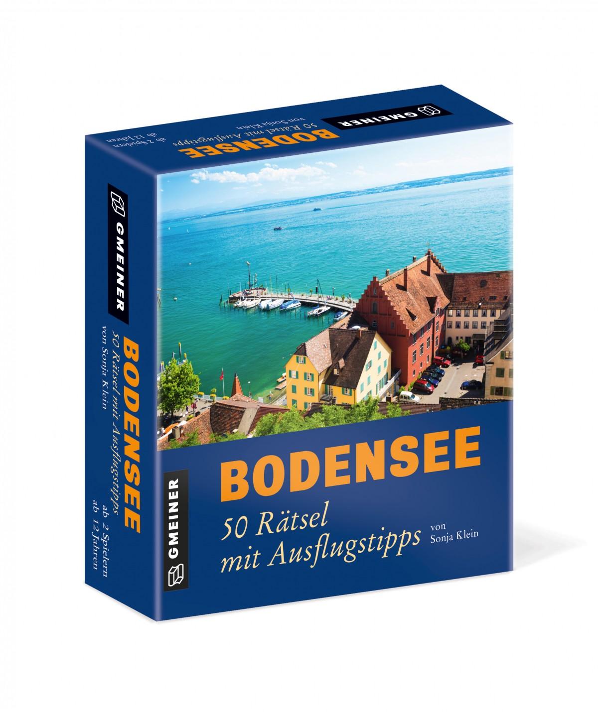 Bodensee 50 Ratsel Mit Ausflugstipps Gmeiner Verlag